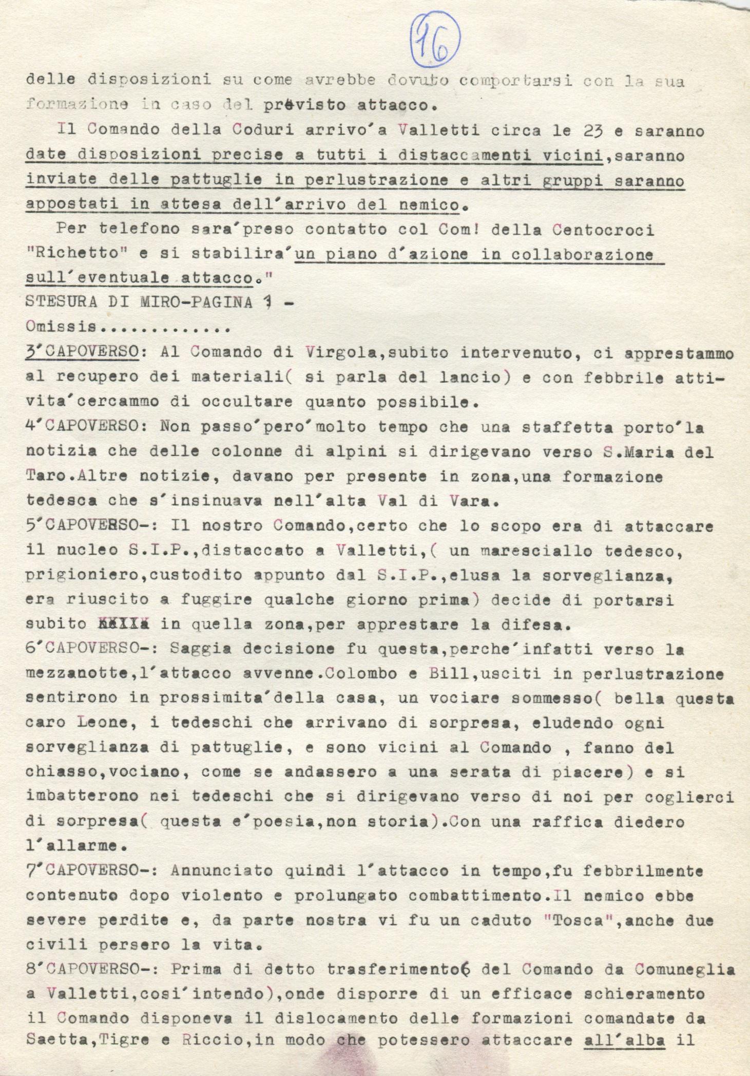 Lettera di Amato Berti a Bruno Monti Leone pag, 16