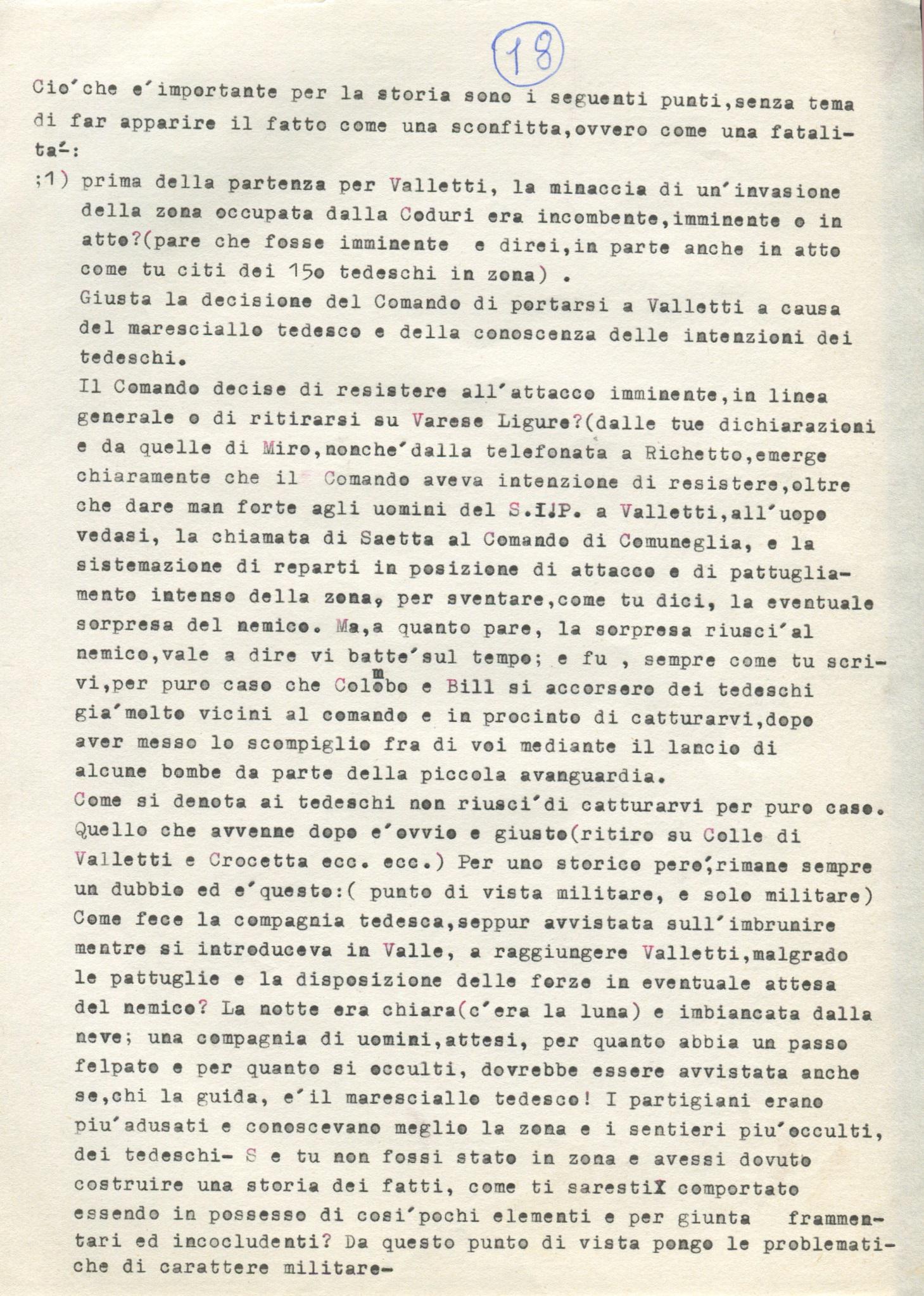 Lettera di Amato Berti a Bruno Monti Leone pag, 18
