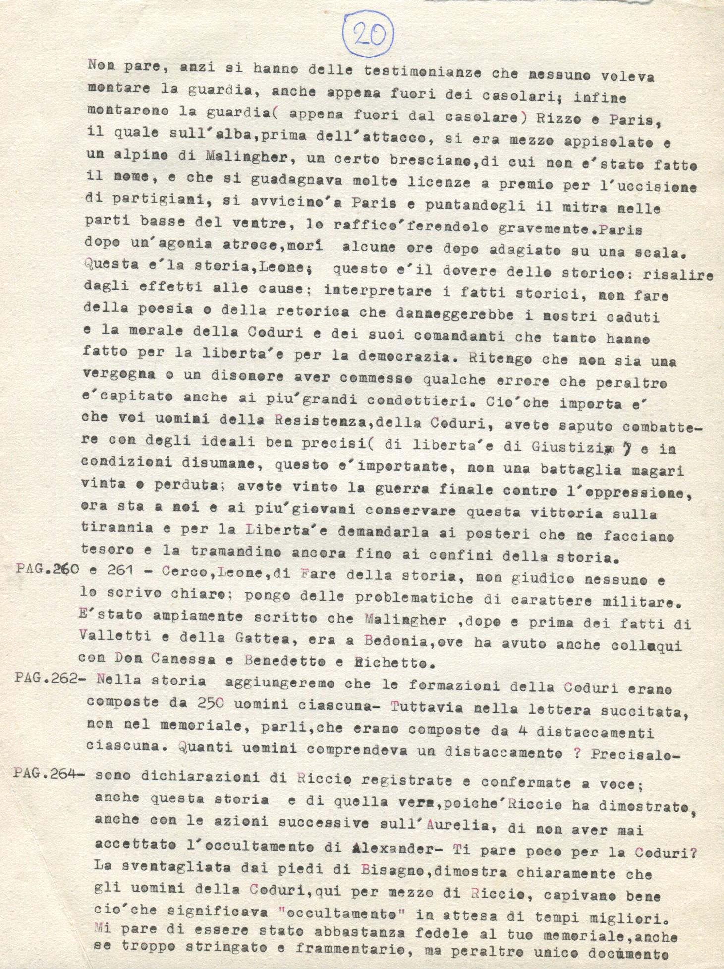 Lettera di Amato Berti a Bruno Monti Leone pag, 2