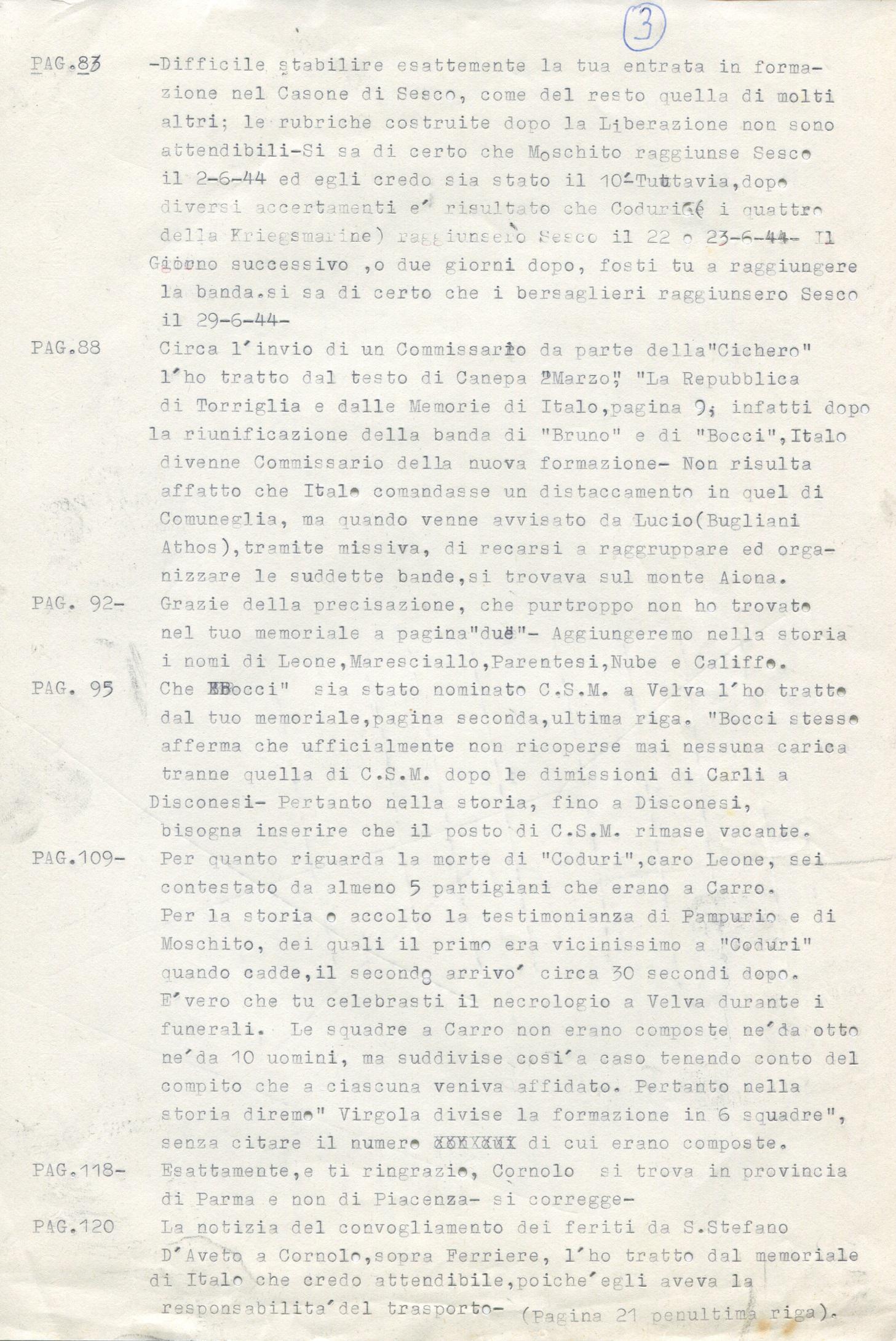 Lettera di Amato Berti a Bruno Monti Leone pag, 3