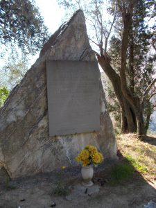Cippo Partigiano a Barassi