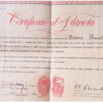Certificato delle Nazioni Unite.